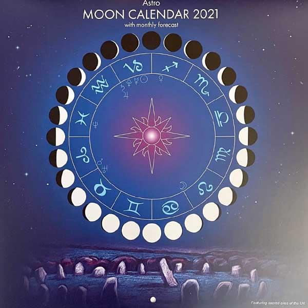 Astro Moon Calendar 2021