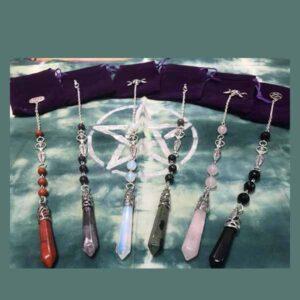 Crystal Goddess Pendulum