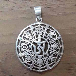 Sacred Hindu Symbol Pendant