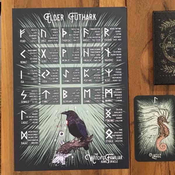 The Witch's Familiar Runic Oracle