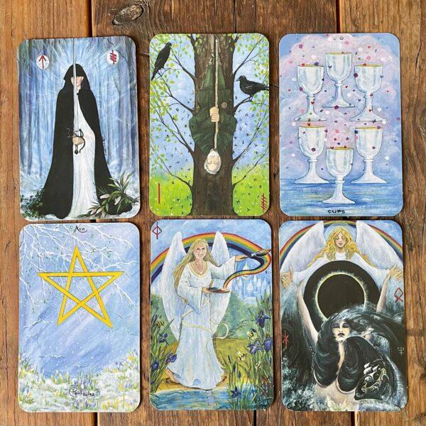 Wicca Moon Tarot Cards & Book Set