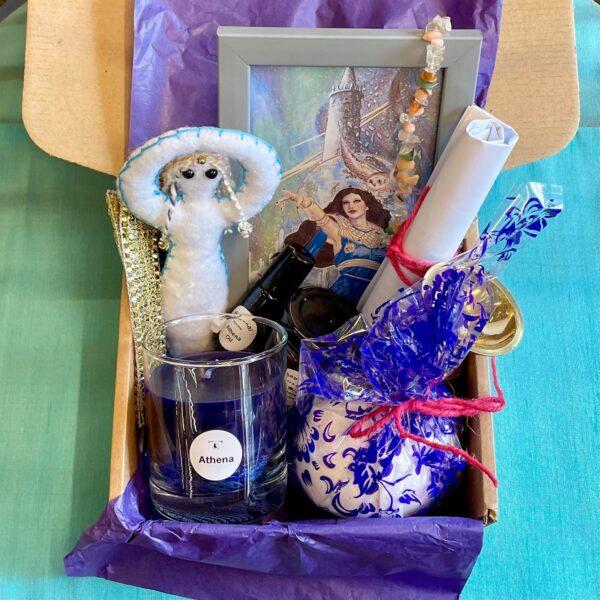 Goddess Athena Ritual Box