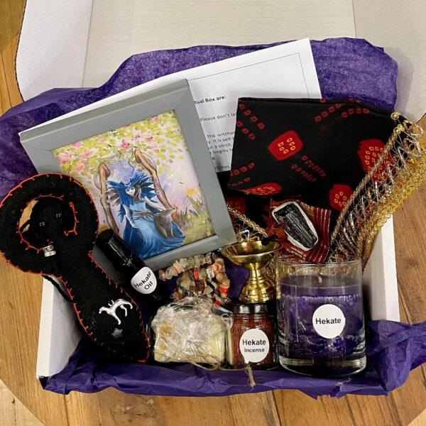 Goddess Hekate Ritual Box