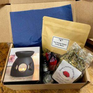 Yoni Herbal Steam Ritual Box