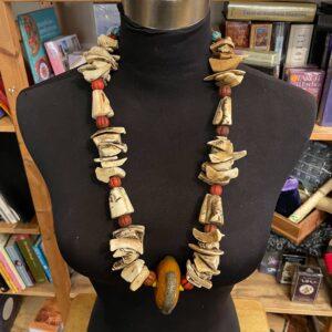 Empowerment Neck Piece – Bone